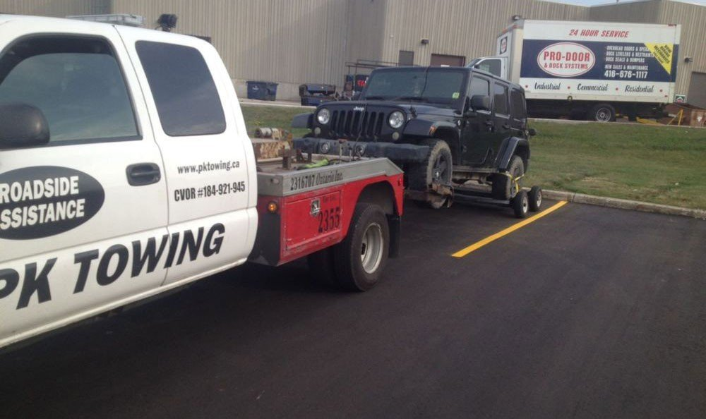 Vaughan towing services image